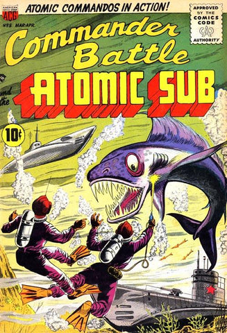 Commander Battle And The Atomic Sub #5