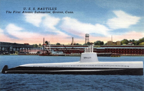 U.S.S. Nautilus, the first atomic submarine