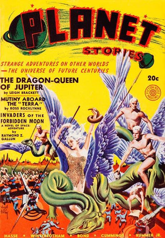 The Dragon Queen of Jupiter