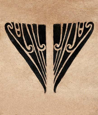 Female Maori Tattoo Design