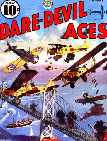 Japanese Planes attack the American Coast & Seek to destroy bridge