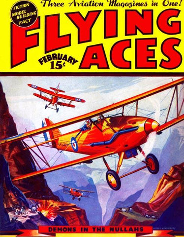 Flying Aces - Bombing in the Nullahs in Southern Asia
