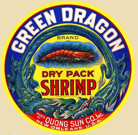 Green Dragon Dry Pack Shrimp