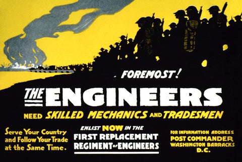 Engineers need Skilled Mechanics & Tradesmen