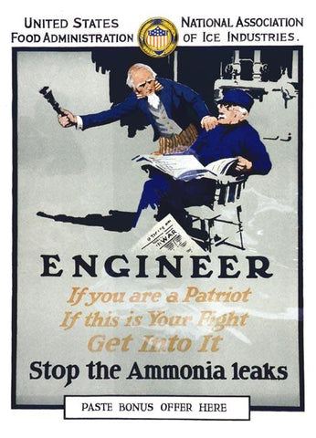 Engineer - Stop The Ammonia Leaks