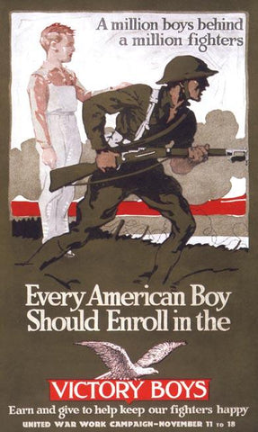 Every American Boy Should Enroll in the Victory Boys.