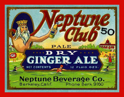 Neptune Club Ginger Ale