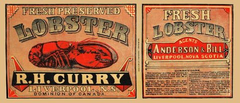 R.H. Curry Fresh Preserved Lobster