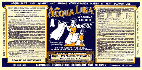 Acqua Lina Washing Liquid
