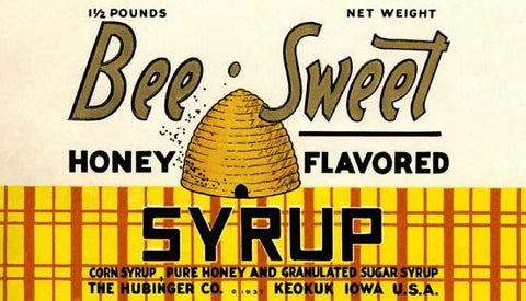 Bee-Sweet Honey Flavored Syrup