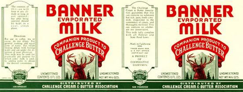Banner Evaporated Milk