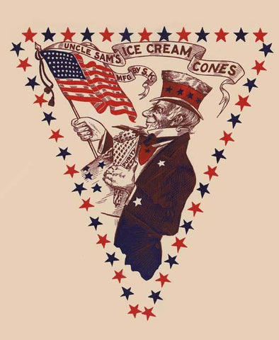 Uncle Sam's Ice Cream Cones