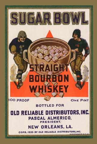 Sugar Bowl Straight Bourbon Whiskey