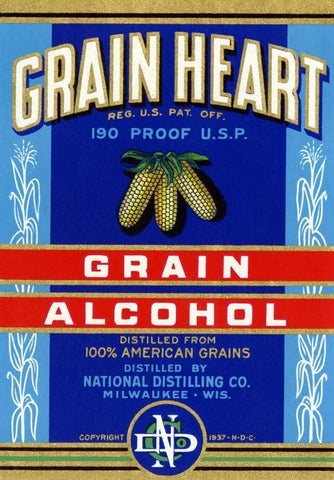 Grain Heart Grain Alcohol