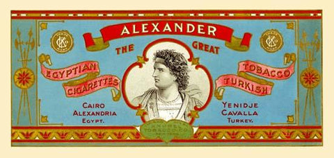 Alexander the Great Cigarettes