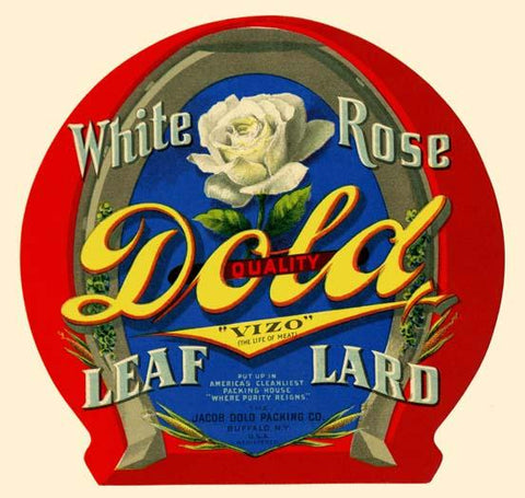 White Rose Leaf Lard