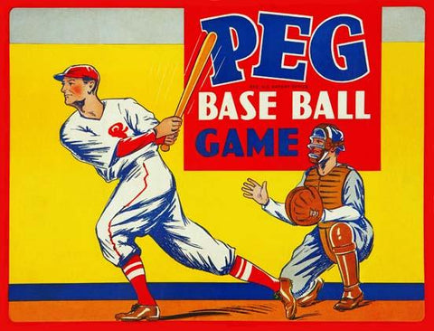 Peg Base Ball Game