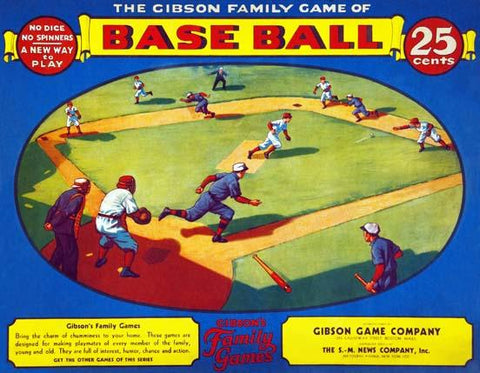 Gibson Family Game of Base Ball