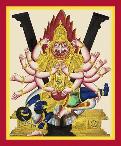 Ugra Narasi?ha, avatar of Vishnu