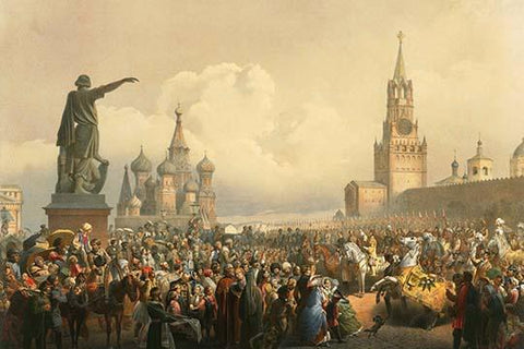 Announcement of the Coronation in Red Square