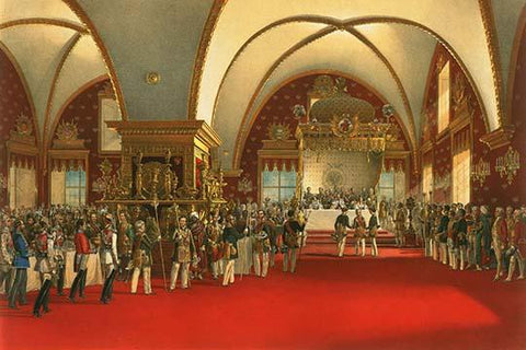 Coronation Banquet for Alexander II - 1856