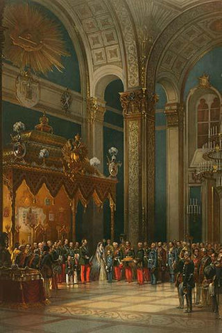 Prayer during the Coronation of Alexander II
