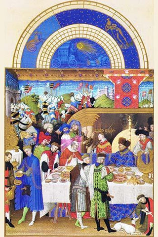 Le Tres riches heures du Duc de Berry - January
