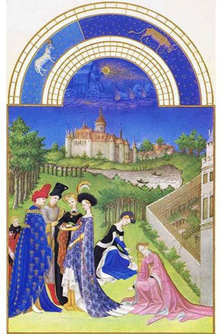 Le Tres riches heures du Duc de Berry - April