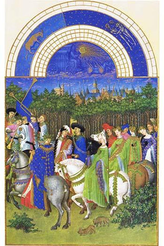 Le Tres riches heures du Duc de Berry - May