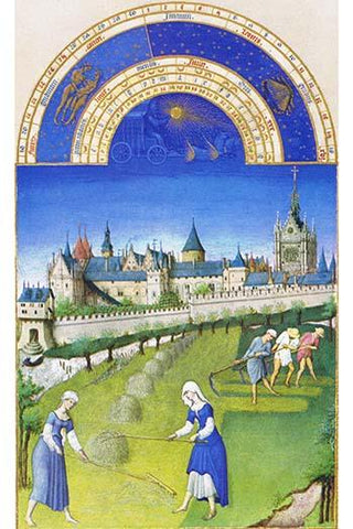 Le Tres riches heures du Duc de Berry - June