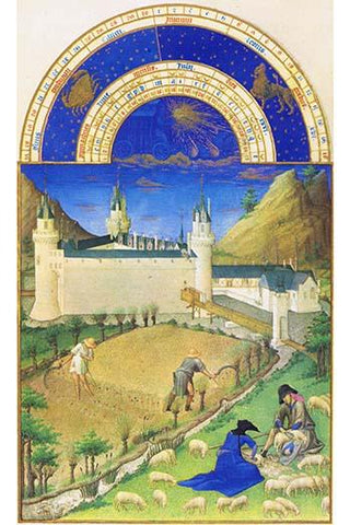 Le Tres riches heures du Duc de Berry - July