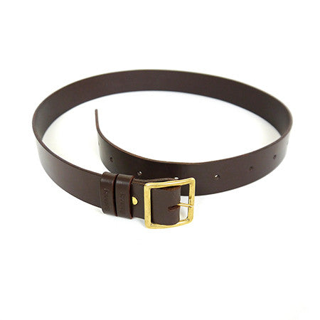 Leather Belt - Chestnut