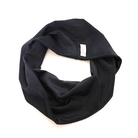Loop Scarf - Navy Cashmere