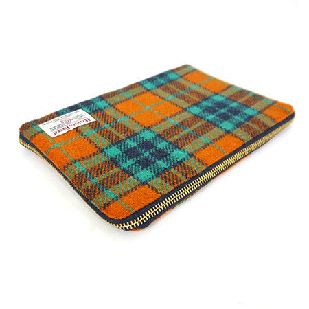 iPad Cover - Orange Check