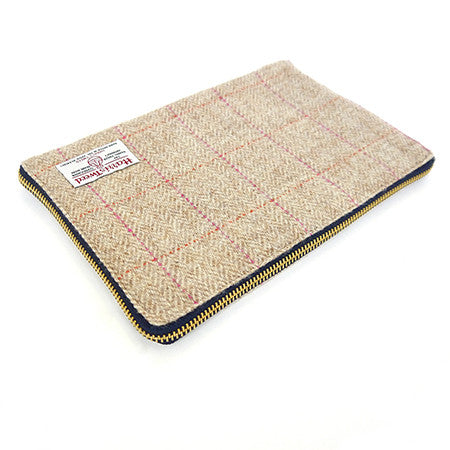 iPad Cover - Pink Check
