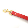 Dog Lead - Red Leather