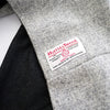 Loop Scarf - Grey Harris Tweed & Cashmere