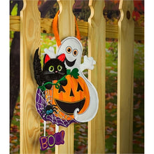 Load image into Gallery viewer, Halloween Boo Door Decor