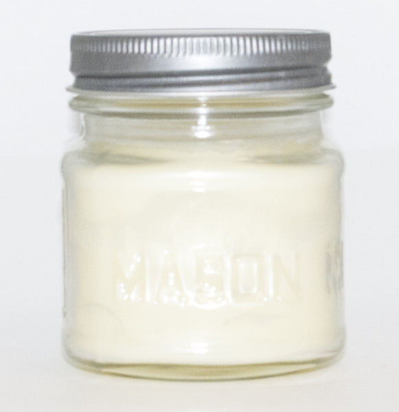 Coconut Lime Square Mason Jar