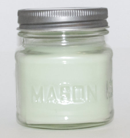 Day Spa Square Mason Jar