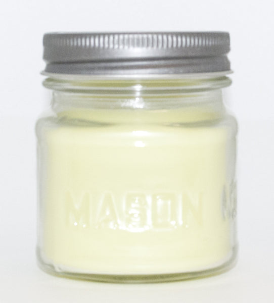 Honeydew Melon Square Mason Jar