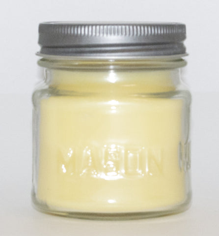 Very Vanilla Square Mason Jar