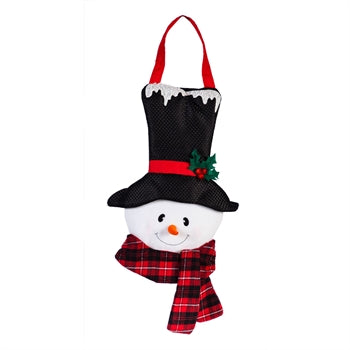 Baby It's Cold Outside Snowman Door Decor