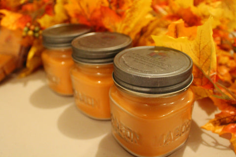 Pumpkin Pie Square Mason Jar