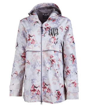 Floral Ladies New Englander Rain Jacket (LIMITED QUANTITIES)