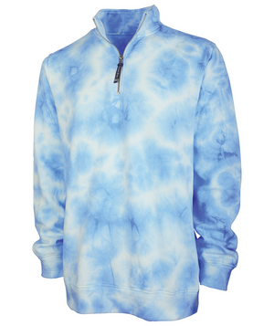 Make it Pink or Blue Tie Dye Pullover