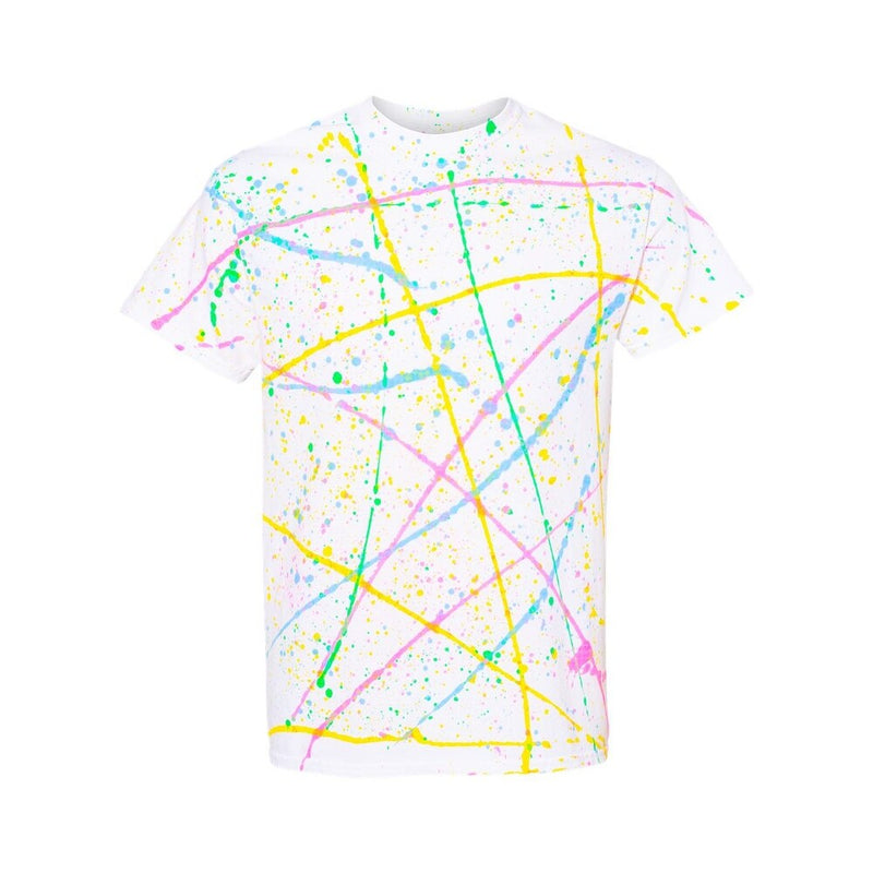 Paint Splatter Unisex Crew Tee (Ready to Ship)