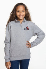 PLMouse Youth Popover with Red Dot Fabric