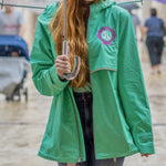 Shell Monogram Rain Jacket