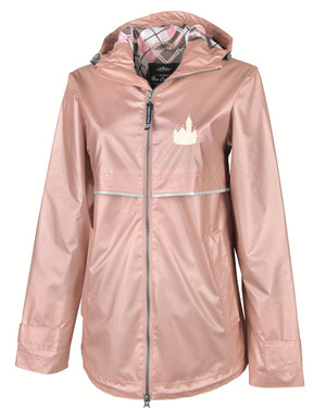 Rose Gold Castle Rain Jacket (Limited Edition)